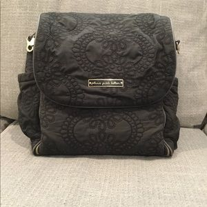Petunia Pickle Bottom Quilted Boxy Diaper Bag